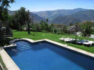 La piscina de los Pérez